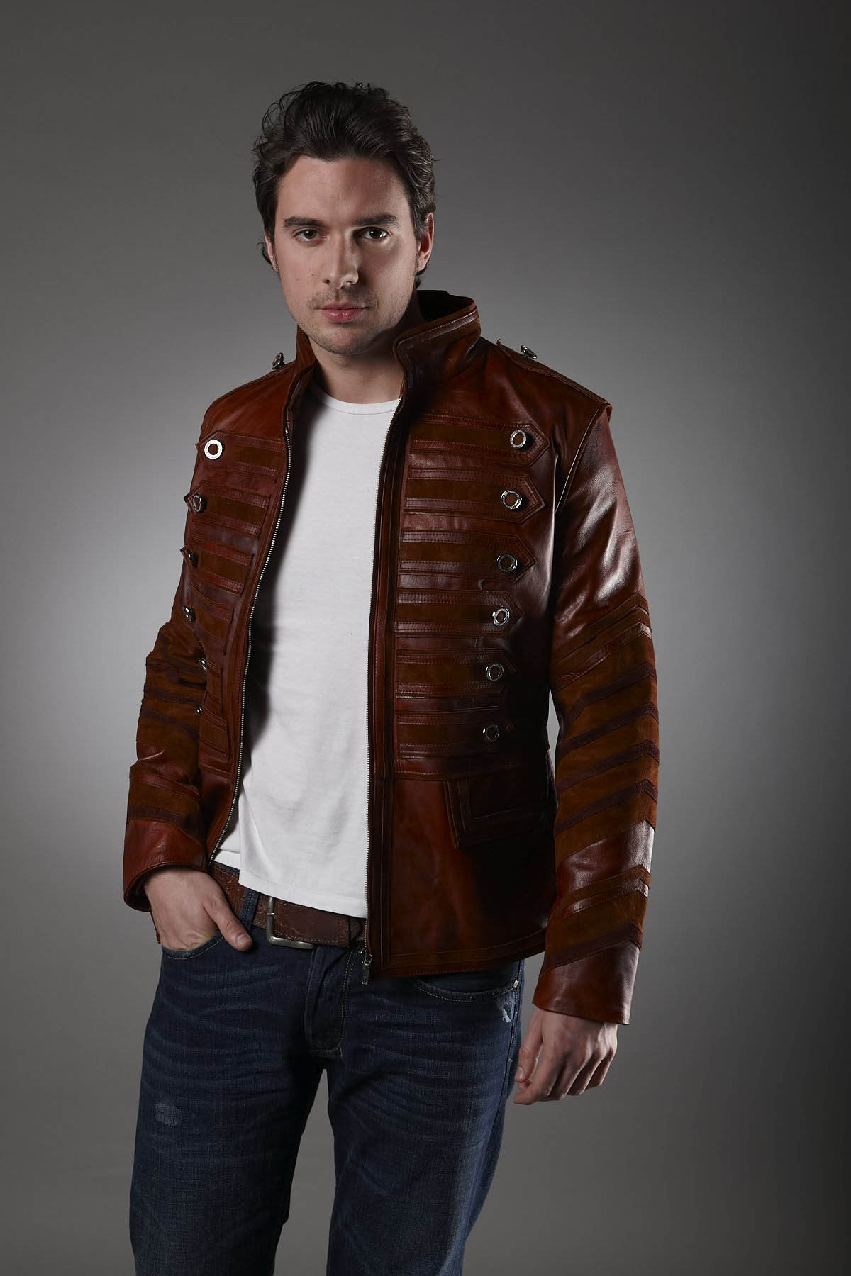 Types of leather jacket