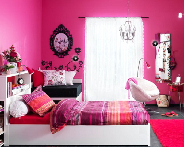 Pink Girls Bedroom Ideas Photograph | Cute Pink Bedroom Desi