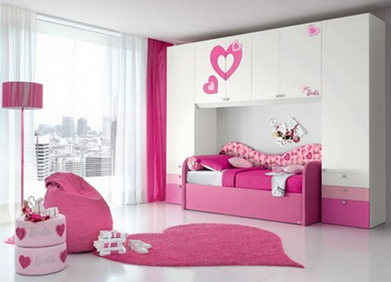 Cool Ideas For Pink Girls Bedrooms Interior Design Ideas