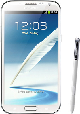 Samsung Galaxy Note 2 N7100, White